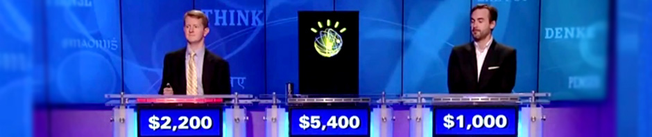 MAN MACHINE… IBM's Watson finally hits Jeopardy [but thinks Toronto is in US...]
