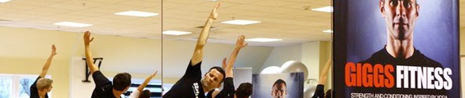 Ryan Giggs loves yoga